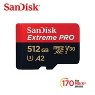 SanDisk Extreme Pro Micro SD 512G 記憶卡