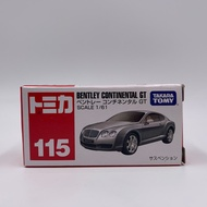 Tomica No.115 BENTLEY CONTINENTAL GT