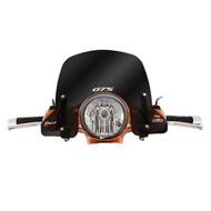 義大利 FACO 黑化風鏡 VESPA GT200 / GTS250 / GTS300 專用