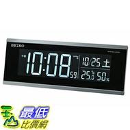[東京直購] SEIKO CLOCK DL209K (新款) 電子鐘 時鐘 溫度 濕度 6.4×15.4×3.9cm