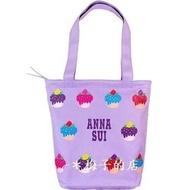 梅子的店╭*安娜蘇【ANNA SUI 紫戀甜心手提包(側背包)】特價:290元*可超取、無摺