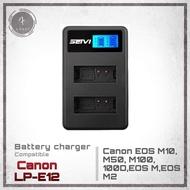 แท่นชาร์จ USB Canon LP-E12 สำหรับกล้อง Canon EOS M10, M50, M100, 100D,EOS M,EOS M2