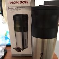Thomson電動研磨咖啡隨行杯(usb充電) 磨完直接沖咖啡 在戶外、辦公室好方便