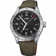 【ORIS 豪利時】Big Crown ProPilot GMT小秒針機械錶(0174877564064-0732202LC)