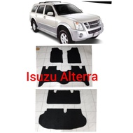 Isuzu Alterra nomad rubber car mat with piping Isuzu Alterra Custom Fit nomad carmat Alterra carmat