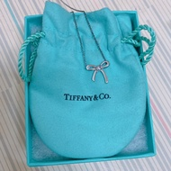 Tiffany & Co mini 蝴蝶結項鍊