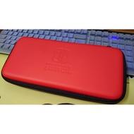 二手 任天堂 SWITCH NS HORI 輕薄款設計 主機包 硬殼包 紅色