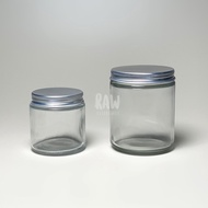 HOT new Transparent Glass Jar 120ml - 250ml
