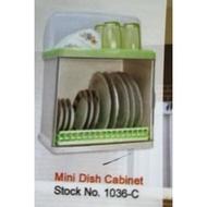 Dish Cabinet Mini Dish Cabinet 1036-C