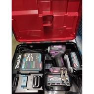 日本製 牧田 40V充電無刷衝擊起子機 TD001GD205 酒紅色 TD001GD206 紫色