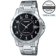 Time&Time CASIO Standard นาฬิกาข้อมือผู้ชาย สายสแตนเลส รุ่น MTP-V004D, MTP-V004D-1BUDF, MTP-V004D-7BUDF