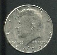 【錢幣】United States(美國),1/2-DOLLAR,1974D,甘迺迪,品相極美XF #1907214