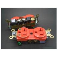 <<大慶電料>>HUBBELL醫療級獨立接地插座 125V 20A IG8300C 超低溫處理