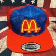 Hot cap vintage Mcdonald's fullmesh tag made in usa
