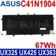 ASUS C41N1904 華碩電池 ZenBook UX325 UX325EA UX325JA UX425EA UX425 UX425IA UM425IA UX425E UX363 UX425EA UX425J UX425JA X435EA UX393JA UX363EA UX371 UX371EA UX393 UX393EA
