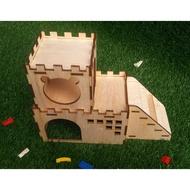 Syrian Hamster House Mini Hedgehog Syrian Hamster House