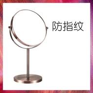 歐式高清臺式化妝鏡鏡子梳妝鏡雙面鏡公主鏡美容鏡放大桌面 振興 秋冬特惠上新~