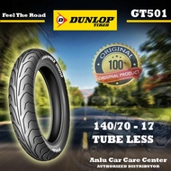 140/70 R17 TUBELESS DUNLOP MOTORCYCLE TIRE
