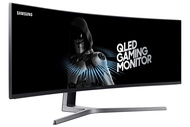 Samsung 49-Inch CHG90 144Hz Curved Gaming Monitor (LC49HG90DMNXZA) â Super Ultrawide Screen QLED Computer Monitor, 3840 x 1080p Resolution, 1ms Response, FreeSync 2 with HDR