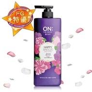╰☆╮靓小屋╭☆╯韓國 ON THE BODY 快樂微風香水沐浴乳 900ml 全新過期福利品