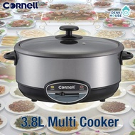[Cornell] CMC-S1600A / Electric Multi Cooker 3.8L / Stainless steel body / multi-purpose cooking
