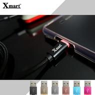 Xmart  Micro USB 120cm 發光編織傳輸線/充電線/SONY Xperia Z1 L39H/Z1mini Z1f Z1s/Z2/Z2a/Z3 D6653/Z3+/Z5/Compact/Premium/Z C6602 L36H/Z Ultra XL39H ZU/ZR M36H C5502/Sony Xperia C3 D2533/C4 E5353/C5 E5553/L S36H/ZL L35H/SP M35H/C S39H