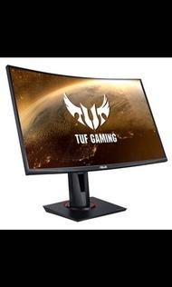 Asus Vg27vq 27吋 電競曲面螢幕