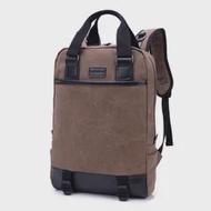 แฟชั่นผ้าใบกระเป๋าเป้สะพายหลังแล็ปท็อป14นิ้วผู้ชายกระเป๋าเป้สะพายหลังเดินทางสบายๆ Unisex ผู้...