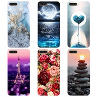 HUAWEI Y6 2018 Printed Case Cartoon Back Cover For HUAWEI Y6 2018 Soft Silicone TPU Case For HUAWEI Y6 2018