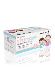 Refresh Wellness 5 Boxes Disposable Surgical Melt-Blown Face Masks 일회용 안면 마스크 (Kid Size) (30pcs/box)