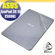 【Ezstick】ASUS ZenPad 3S 10 Z500 Z500KL 二代透氣機身保護貼(機身背貼)DIY 包膜