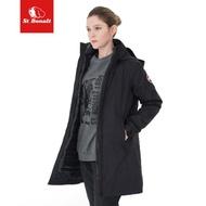 【St.Bonalt 聖伯納】機能防風防水兩件式羽絨衝鋒衣 女款 8160(羽絨 外套 保暖 輕盈)