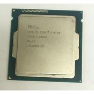 intel cpu i7 4770 正式版 很少使用