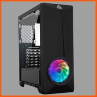 Best Quality AZZA Mid Tower Gaming Computer Case ARC 241 – Black การ์ดจอ