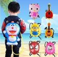 Childrens water gun toy backpack water gun child water chestnuts summer splash water beach toys