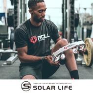 Roll recovery R8手持式深層筋膜滾筒放鬆按摩器第二代.腿部放鬆器肌肉滾輪按摩