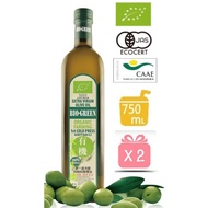 4罐【囍瑞 BIOES】蘿曼利有機100%冷壓特級初榨橄欖油 750ml
