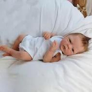 18Inch Reborn Boneka Bayi Buatan Tangan Baru Lahir Boneka Full Body Silikon Boneka