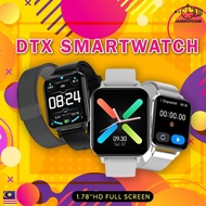 [Pos KL] DTX [CUSTOM WALLPAPER] T500 Smart Watch 1.78 inch Big Full Touch Screen ECG Heart Rate Blood Pressure Fitness