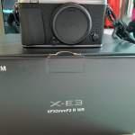 Fujifilm fuji Xe3 Xe-3 99% new 連 18-55