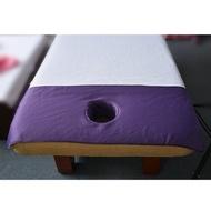 超聲波纳米面料美容床趴巾 / 美容床頭洞巾 / 按摩床SPA專用趴巾