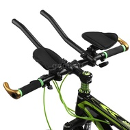 GGC Bike Rest Handlebar Cycling Aero Bar Bicycle Relaxation Handle Bar Triathlon MTB Road Bike Arm Rest Bar Bike Aerobar