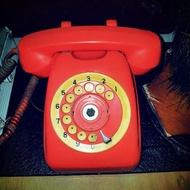 早期轉盤電話