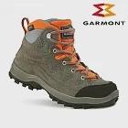 GARMONT 兒童Gore-Tex戶外郊山鞋Escape Tour GTX 441199/216、441200/216 (健行、GoreTex、防水透氣)EU33灰橘色