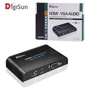 含稅含運~DigiSun VH528 BNC轉HDMI訊號轉換器