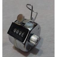 唸佛號計數器/0000-9999計算人次/機械式手按計次器(免電池)
