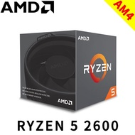 AMD Ryzen R5 2600 6核12HT/3.4GHz Turbo3.9GHz 12nm/無內顯/65W