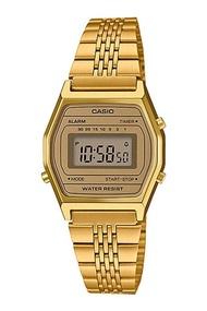 Casio Standard นาฬิกาข้อมือผู้หญิง สายสแตนเลส รุ่น LA690WGA-9 - สีทอง
