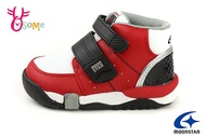 Moonstar 月星 Carrot Hi系列 童運動鞋 十大機能 日本機能鞋 高筒矯正鞋G9619#紅色 奧森