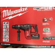 現貨 Milwaukee 米沃奇 M18 CHM-902C 鋰電無刷鎚鑽(40mm) 雙9.0電池